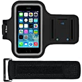i2 Gear Armband Case for Apple iPhone 5/5S/5C SE - Black