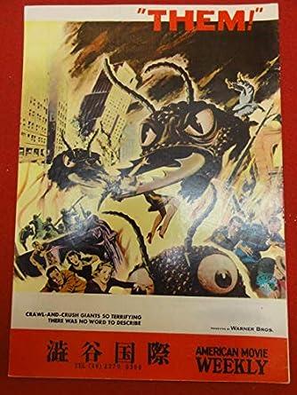 Amazon.co.jp: 26887『放射能X』渋谷国際パンフ ジェームズ ...