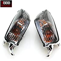 Smoke Rear Turn Signal Lenses Kawasaki ZX14 2006 2007...