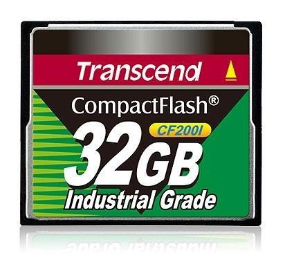 TRANSCEND INFORMATION 32 GB CompactFlash - TS32GCF200I by Transcend