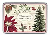 Cavallini Papers & Co., Inc. Christmas Bontanica Gift Tag