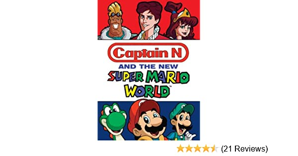 Amazon.com: Captain N and the New Super Mario World: Captain N, Mega ...