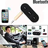 Iusun Wireless Receiver 3.5mm Jack Audio Sound Music Adapter Car Aux Cable For Portable Speaker Headpset (Black)