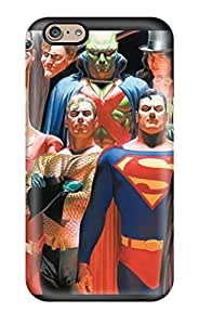 DrunkLove Fashion Protective Justice League Alex Ross Case Cover For Iphone 6