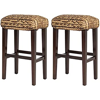 Unique Amazon.com: Best Choice Products BCP Set of (2) Hand Woven  XV64