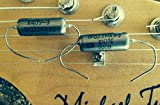 2x (Pair) .033uf/200v Russian K40Y-9 Paper In Oil Capacitors - NEW OLD STOCK