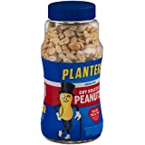 Planters Dry Roasted Peanuts, Unsalted, 16 Ounces