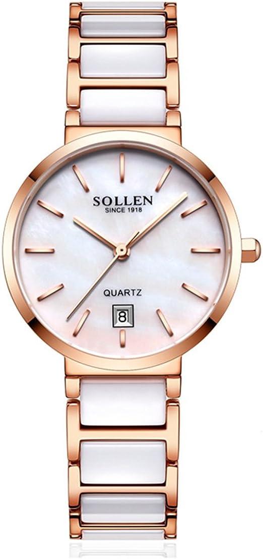 Reloj de señora de gama alta reloj de pulsera de porcelana de ...