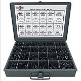 Grade 8 Hex Cap Flange Frame Bolt Black Phos & Locking Flange Nuts Assortment Kit - 420 Pieces!