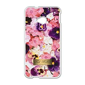 HTC One M7 Cell Phone Case White Ted Baker Brand Logo Custom Case Cover A11A3824067