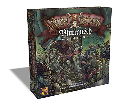 15 Yr Old Rum - CMON Rum & Bones: Second Tide Blutrausch Legion Board Game