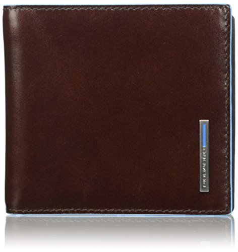 Piquadro Men's Wallet with Money Clip, Mahogany, One Size by Piquadro