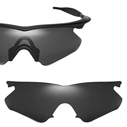 6201da9e215 Cofery Replacement Lenses for Oakley M Frame Heater Sunglasses - Multiple  Options Available (Black -