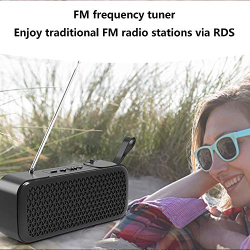 Household appliances Bluetooth Audio FM Radio, Mini Wireless Outdoor Portable, Support TF Extension Support U Disk Expansion AUX Input AOYS by Household appliances (Image #8)