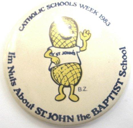 Catholic School's Week 1983 Pinback]()