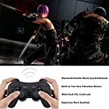 PS3 Controller Wireless, Gaming Remote Joystick for Playstation 3 with Charger Cable Cord