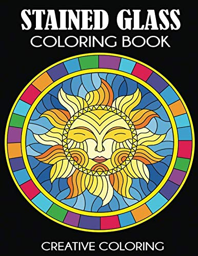 Stained Glass Coloring Book: Beautiful Intricate Designs]()