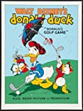 Donald Duck Poster #02 Donalds Golf Game 24x36in