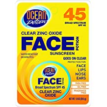 Ocean Potion 00088 Face Potion Clear Zinc SPF 45 1oz
