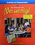 Ven Conmigo!, Holt, Rinehart and Winston Staff, 0030526043