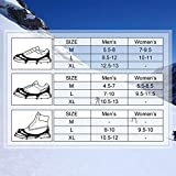 EIVOTOR【Upgraded 24 Spikes Walk Traction Ice