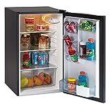Avanti AR4446B 4.4 CF Auto-Defrost Refrigerator, 19 1/2-Inch w x 22-Inch d x 33-Inch h, Black