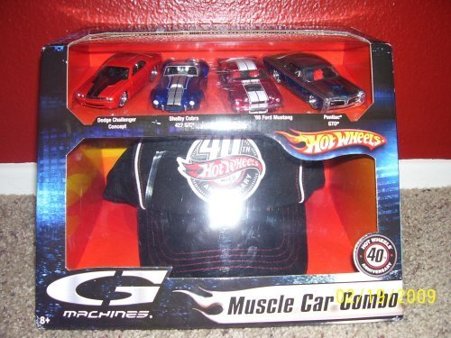 Hot Wheels G Machines Muscle Car Combo 40th Anniversary Hot Wheels G Machines