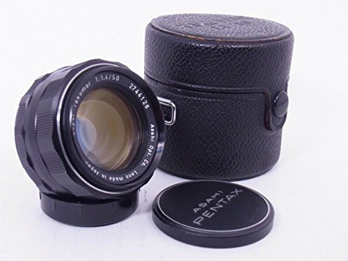 Asahi Pentax Super Takumar 50mm F/1.4 Prime Lens, Fully Cla'ed, UV De-yellowed (Screw Pentax Mount)