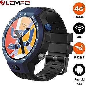 LEMFO LEM9, reloj inteligente de doble sistema 4G LTE ...
