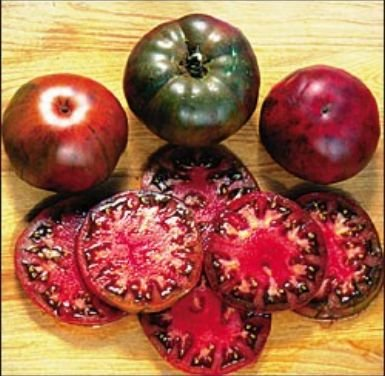 Tomato Black Krim Great Garden Heirloom Vegetable 100 Seeds (Tomato Black Krim)