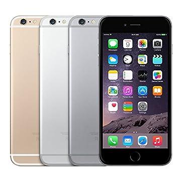 Apple iPhone 6 Plus 16 GB  Unlocked, Space Gray (Certified Refurbished)