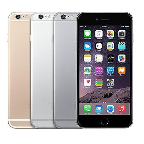 Apple iPhone 6 Plus 16 GB Unlocked, Space Gray (Certified Refurbished) (Apple Used Mobile)