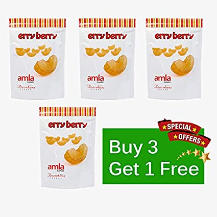 Buy Erryberry Amla Candy (Anardana) 500gm (Buy 3 get one Free