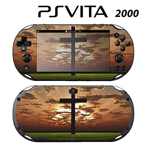 Skin Decal Cover Sticker for Sony PlayStation PS Vita Slim (PCH-2000) - Cross -  Decals Plus, PV2-ZZ26