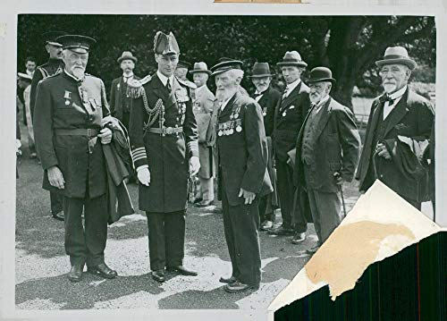 Vintage photo of King Georg VI visits Australia