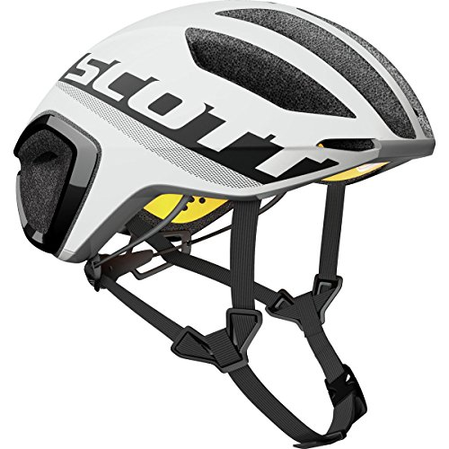 Scott Cadence PLUS Bike Helmet - White/Black (Road Bike Cadence)