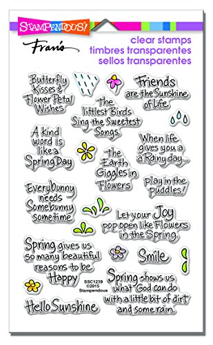 Easter Stamps (Stampendous Clear Stamps, Spring)
