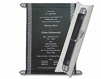 Cheap scroll invitations scroll wedding invitations wedding cheap scroll invitations scroll wedding invitations wedding scrolls 10 pcs black filmwisefo