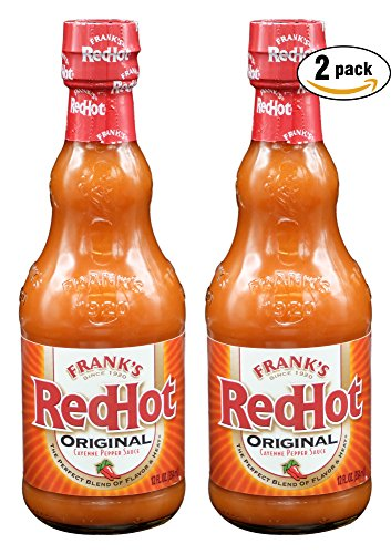 - Frank's RedHot Original Cayenne Pepper Sauce, 12 Fl Oz, Pack of 2