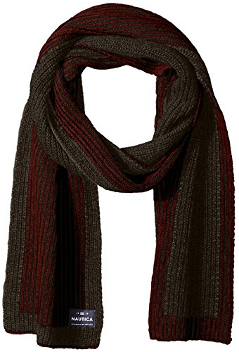 Nautica Men's Border Stitch Scarf