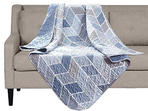 Blanket Heather (SLPR Heather Printed Quilted Throw Blanket (50