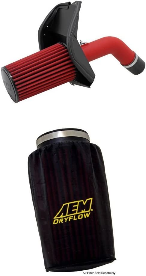 AEM 21-478WR Cold Air Intake System with Black Air Filter Wrap