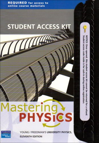 Mastering Physics: Student Access Kit for Young and Freedman's University Physics, 11th Edition