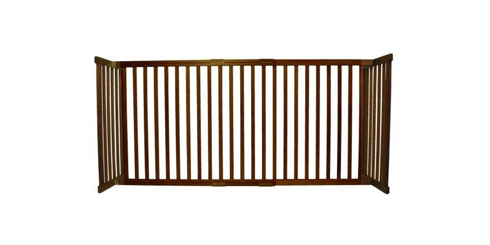 (Large (Expands 100cm 180cm .), Mahogany) Dynamic Accents 42301 30 Inch Large Kensington Gate in Mahogany