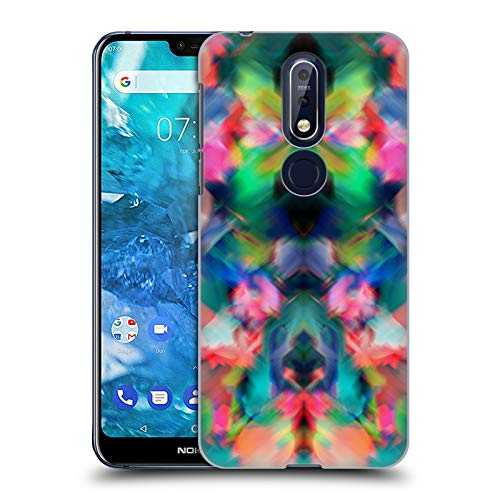 Alexandrite Slide (Official Amy Sia Alexandrite Kaleidoscope Hard Back Case for Nokia 7.1)