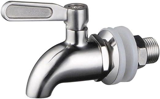 16mm Edelstahl Bierhahn Bierzapfhahn für Getränkespender Zapfhahn Wasserhahn NEU