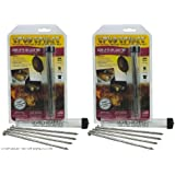 Potato Baking Nails - Premium USA-Made 6-inch Food-Grade Stainless Steel (2 sets of 4) by Spud Spikes