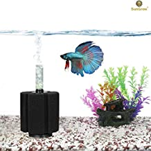Biochemical Sponge Betta Filter for Aquarium - High efficiency filtration breaks down toxic waste - Clear water in ONE day by help of nitrifying bacteria - Slow current - Perfect for fry & small fish
