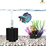 Biochemical Sponge Betta Filter for Aquarium by SunGrow - High efficiency filtration breaks down toxic waste - Allows colonization of nitrifying bacteria - Slow current - Suitable for fry & small fish