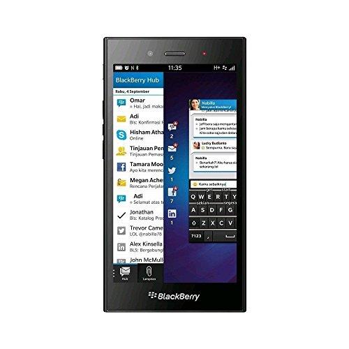 BlackBerry STJ100-1, Z3 Factory Unlocked, Touchscreen, 4G Smartphone, 5MP Camera, 8 GB - Black (Certified Refurbished)
